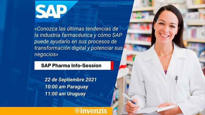 SAP Pharma Info-Session. Evento especial para industria farmacéutica.